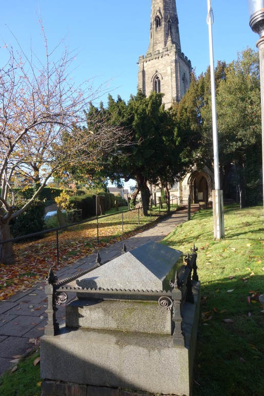 "Arthur Shrewsbury's Grave</span><span style=\""color: black; font-family: 'Segoe UI','sans-serif'; font-size: 8.5pt;\"">"